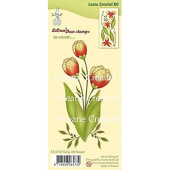 Leane Creatief Tulip Clear Stamp