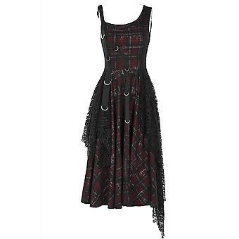 Punk Rave Misanthrope Tartan Dress