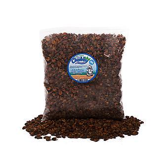 5kg pugas de gusano de seda regordeta seca