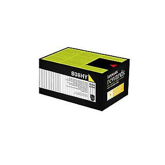 Lexmark 808Hye Yellow High Yield Corporate Toner Cartridge 3K