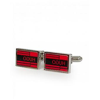 BOSS Enamel Detail Cufflinks