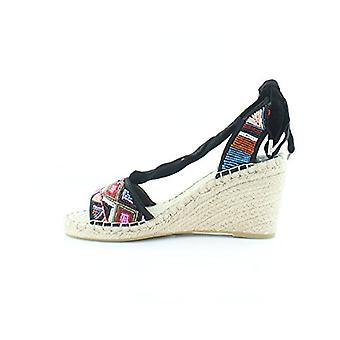 Ash Womens paola Fabric Open Toe Casual Platform Sandals