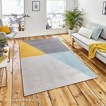 Marpole grijs geel tapijt