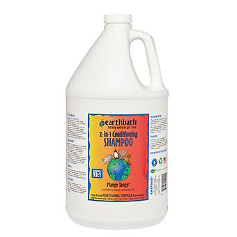 Earthbath Mango Tango Natural 2-in-1 Conditioning Shampoo for Dogs