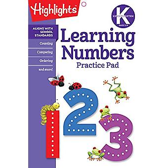 Learning Numbers by Highlights - 9781684371631 Book