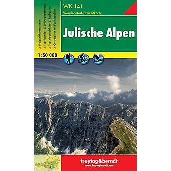 Julian Alps Hiking + Leisure Map 1 -50 000 - 9783850847353 Book