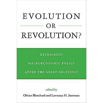 Evolution or Revolution? - Rethinking Macroeconomic Policy after the G