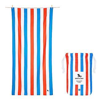 Dock & bay quick dry beach towel - summer - poolside parties