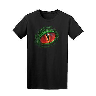 Green Lizard Eye Tee Men's -Image by Shutterstock