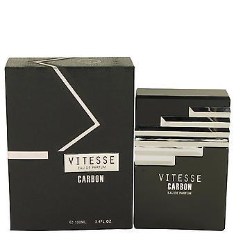 Armaf Vitesse Carbon Eau De Parfum Spray By Armaf 3.4 oz Eau De Parfum Spray