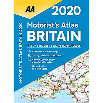 AA Motorist's Atlas Britain 2020 - 9780749581343 Book