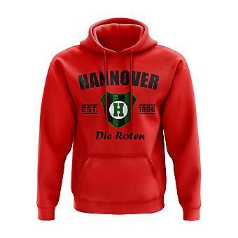 Hannover 96 Etableret Hoody (Rød)