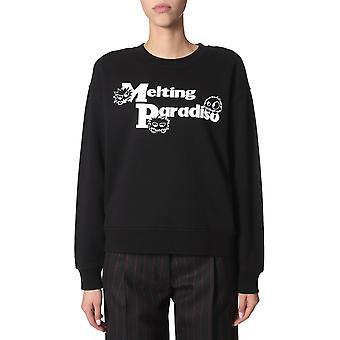 Mcq Door Alexander Mcqueen 577664roj631000 Women's Black Cotton Sweatshirt