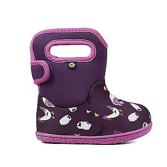 Bogs Baby Bogs Farm Baby Waterproof Boot Purple Multi
