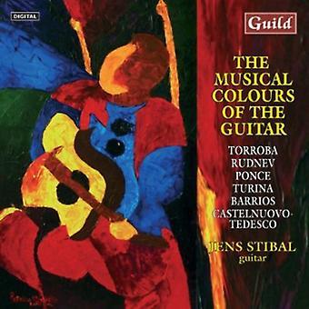Turina/Tedesco/Rudnev - Musical Colours of Guitar [CD] USA import