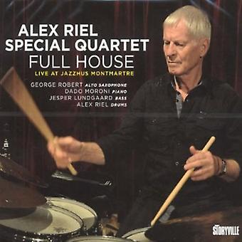 Alex Riel & Special Quartet - Full House [CD] USA import