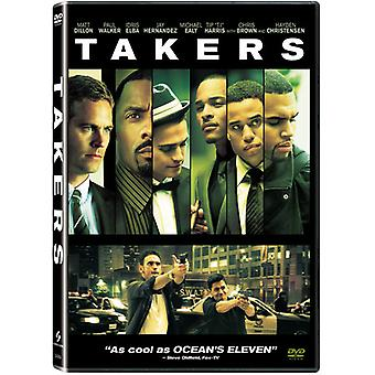 Takers [DVD] USA import