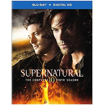 Supernatural: The Complete Tenth Season [Blu-ray] USA import