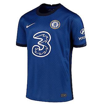 2020-2021 Chelsea Home Nike Football Shirt (Enfants)