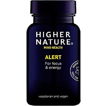 Higher Nature Alert Vegan Capsules 180 (QDR180)