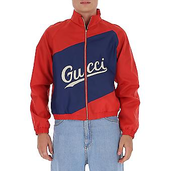 Gucci 618900zaeod6482 Heren's Red Polyester Sweatshirt