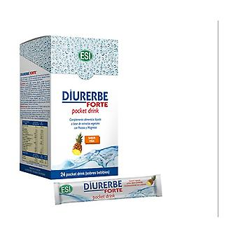 Diurerbe Pocket Drink Pineapple Flavor 24 packets (Pineapple)