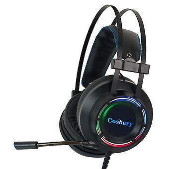 Cosbary Gaming Headset Stereo Headphone 7.1 Surround Sound Headphones with Microphone PlayStation 4 / PC