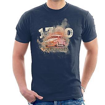 Volkswagen Volkswagen retro 1300 kever mannen ' s T-shirt