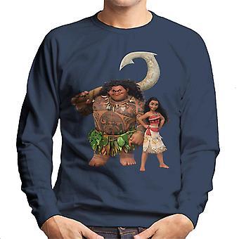 Disney Moana et Maui Pose Homme-apos;s Sweatshirt