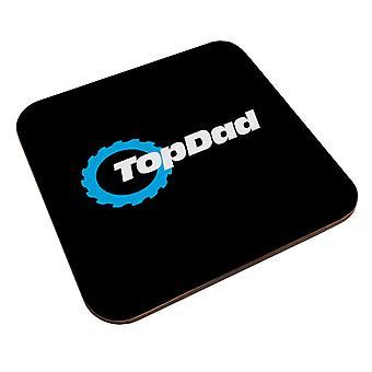 Top Dad Top Gear Logo Coaster