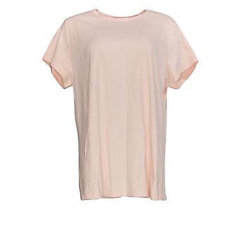 إسحاق مزراحي لايف! Women's Plus Top Essentials Swing Tee Pink A378936