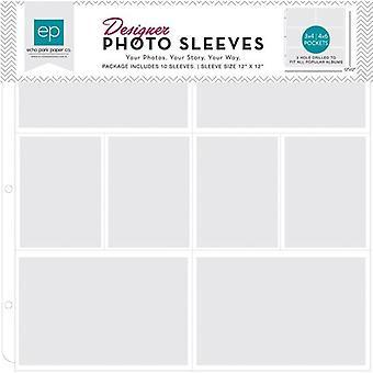 Echo Park Foto mouwen 4x6 inch en 3x4 inch (10 pc's) (PFPS1004)