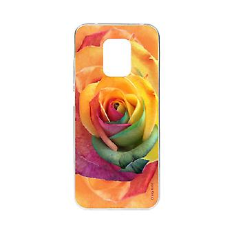 Scafo per Xiaomi Redmi Note 9 Pro Soft Pink Colorful Flower