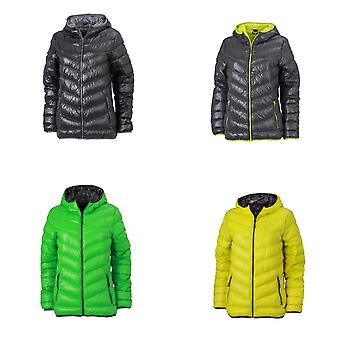 James and Nicholson Womens/Ladies Down Jacket