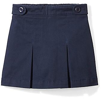 Essentials Big Girls' Uniform Skort, Navy Blazer, M (8)