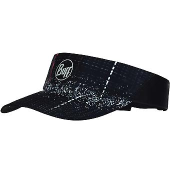 Buff Unisex Reflective Lithe Running Sports Adjustable Visor Cap Hat - Black