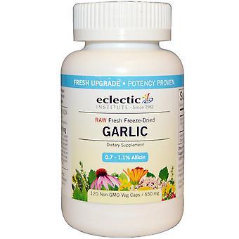 Eclectic Institute, Knoflook, 550 mg, 120 Vegetarische Caps
