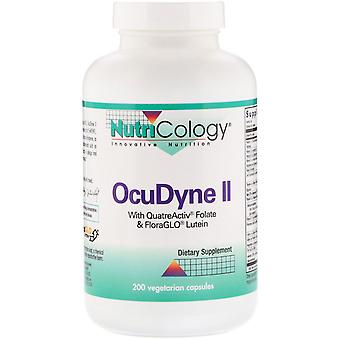 Nutricology, OcuDyne II, 200 Vegetarian Capsules