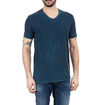 Replay Men's V-Neck Jersey T-Shirt Regular Fit