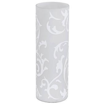 1 Lekka lampa stołowa Szkło cylindryczne, E27