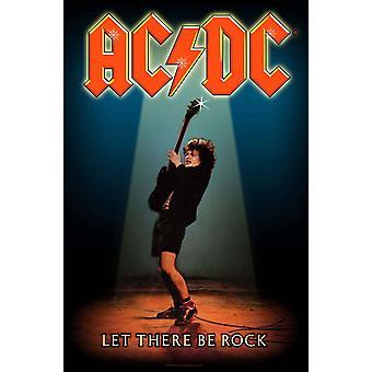 AC / DC Affisch Låt det finnas Rock nya officiella Textil flagga 70cm x 106cm