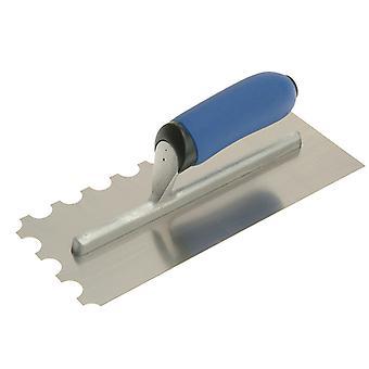 "Vitrex Professional Notched Adhesive Trowel 20mm SS 11x4.1/2"" VIT102906"