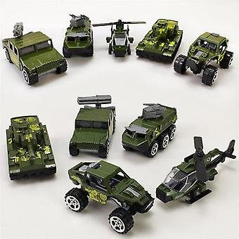Vehicles Models Alloy Mini Diecast Army Car Toys Outdoor Lawn Beach Baby Toys