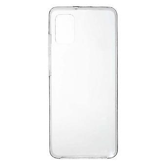 runko Samsung Galaxy A31 läpinäkyvä joustava