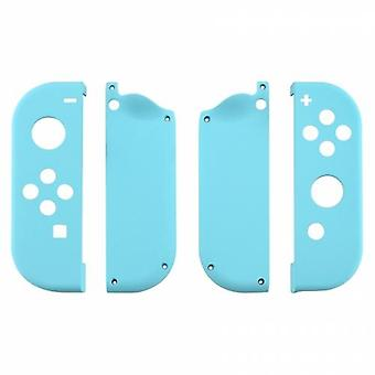 Housing shell for nintendo switch joy-con controller hard casing replacement soft touch - light blue | zedlabz