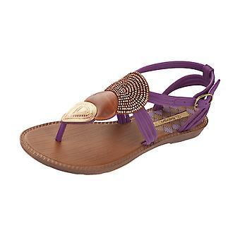 Grendha Dance Girls Flip Flops / Sandals - Purple