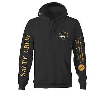 Salty crew ahi mount black hoodie