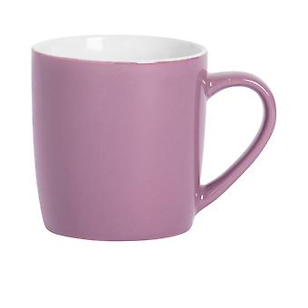 Argon Astiat Tee Kahvimuki - Nykyaikainen värillinen keraaminen kuppi - 350ml - Violetti