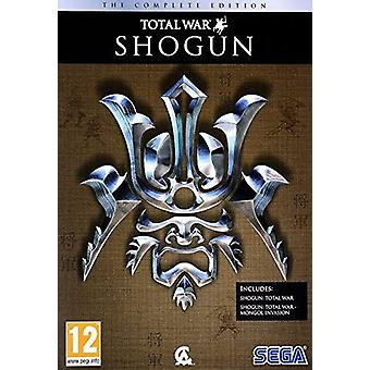 Total War Shogun The Complete Edition PC DVD Game (Romanian Box English in Game)