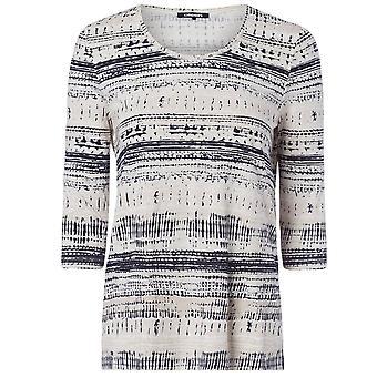 OLSEN Olsen Ivory en Blauw T-shirt 11103714